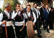 نوروزخوانی مازندران در مراسم جشن جهانی نوروز اجرا شد
