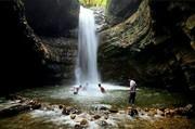 آبشار «ویسادار» گیسوی سپید جنگل های گیلان
