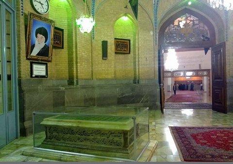 شکوه معماری اسلامی در مسجد اعظم قم/ یادگاری سترگ از مردی بزرگ