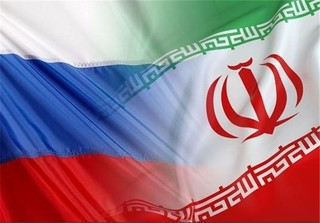 علم ايران و روسيا