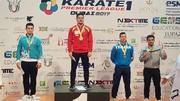 کاتاروی اراکی مدال برنز لیگ جهانی کاراته را از آن خود کرد