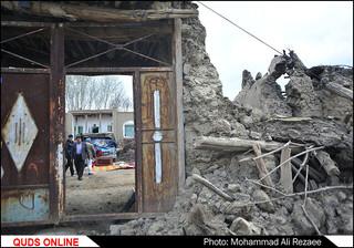 زلزله ۶ ریشتری در روستای دوقلعه فریمان/گزارش تصویری2