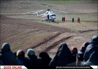 امداد رسانی به مناطق زلزله زده