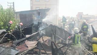 آتش سوزی منازل