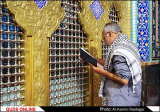 مراسم معنوی اعتکاف در مسجدجامع گوهرشاد مشهد