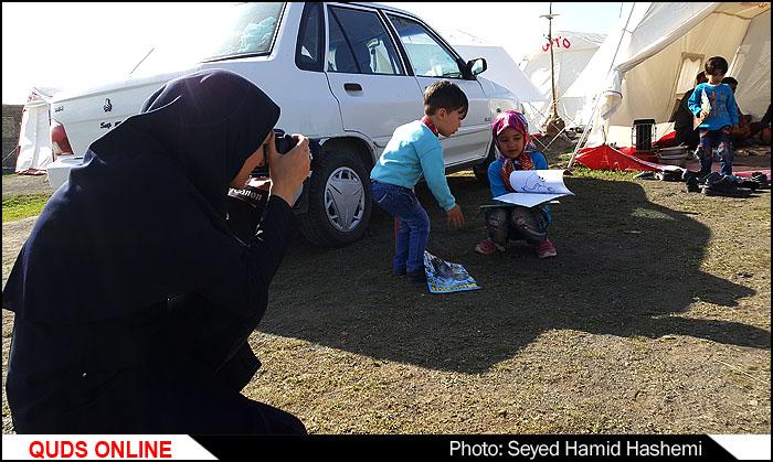 بازدیدسرزده خبرنگاران از روستاهای زلزله زده