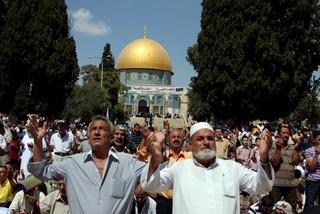 صلاة في المسجد الاقصى