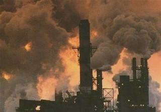 آلودگی هوا صنایع