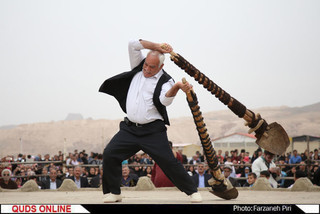 مراسم بیل گردانی شهر نیم ور/گزارش تصویری