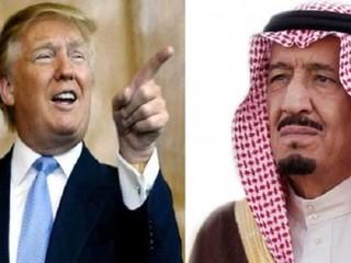 سلمان و ترامب - کراپشده