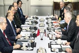 سفر وزیر دفاع ترکیه به آمریکا