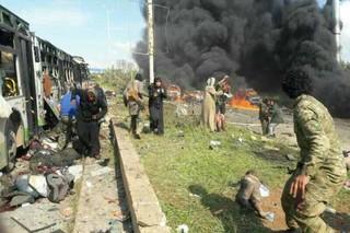 حمله تروریستی به اتوبوس اهالی کفریا و فوعه