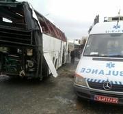 واژگونی اتوبوس ولوو در محور توره - اراک چهار کشته و ۶ مجروح داشت