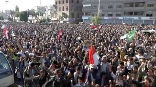 تظاهرات گسترده مردم یمن