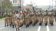 مراسم سان و رژه ارتش در ۱۷ شهرستان شمالغرب کشور برگزار می شود