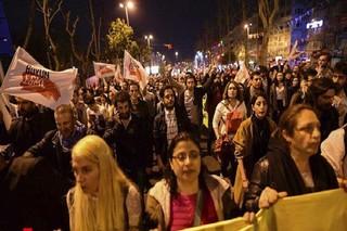 تظاهرات در ترکیه