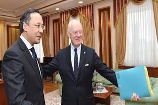 غیرت عبدالرحمانوف» وزیر امور خارجه قزاقستان