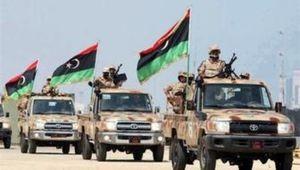 نیروهای ارتش لیبی