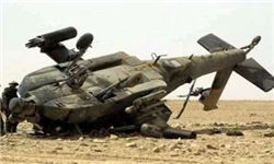 سقوط بالگرد ائتلاف سعودی