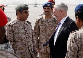وزیر دفاع آمریکا در عربستان