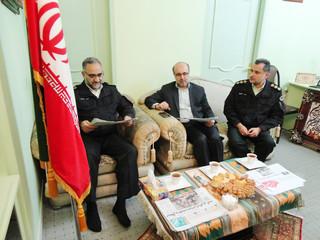 سردار میرحیدری در دیدار با روزنامه قدس گیلان