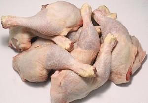 فروش مرغ تکه شده بدون بسته بندی