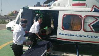 بالگرد اورژانس مازندران