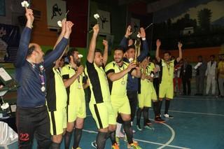 قوچان قهرمان مسابقات فوتسال جام مدافعان حرم شد
