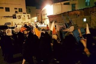 اعتراضات مردم بحرین