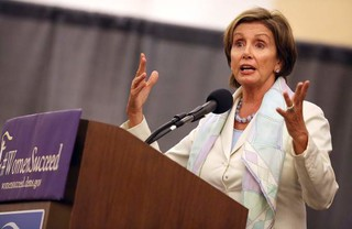 «نانسی پلوسی»، رهبر اقلیت دموکراتها