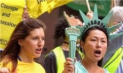تظاهرات آمریکایی ها