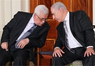 نتانیاهو و محمودعباس
