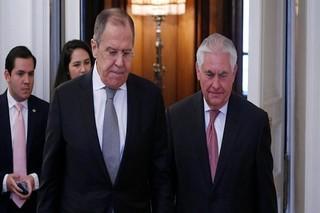 وزرای خارجه روسیه و آمریکا