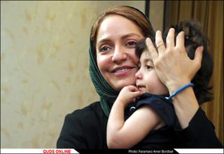 """مهناز افشار """"سفیر نیکوکاری"""" گلستان علی (ع) شد"""