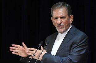 فیلم/ فرار جهانگیری از سوال خبرنگار/ روحانی کنارهگیری میکند یا جهانگیری!؟