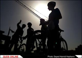 همایش بزرگ دوچرخه سواری در مشهد/تصاویر