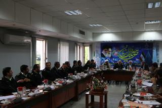نشست مسئولان ارشد قضایی و انتظامی استان
