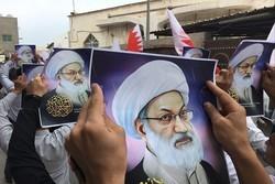 فیلم / تظاهرات مردم بحرین در حمایت از شیخ «عیسی قاسم»
