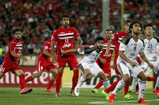دیدار تیم های فوتبال پرسپولیس و الوحده امارات