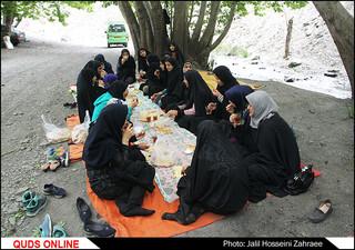 اردوی یکروزه دختران بی سرپرست  خیر یه عمیدی
