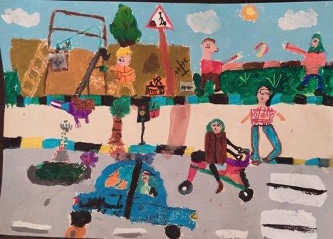 مسابقه نقاشی- سازمان پسماند رشت