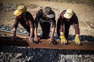 کارگران راه آهن