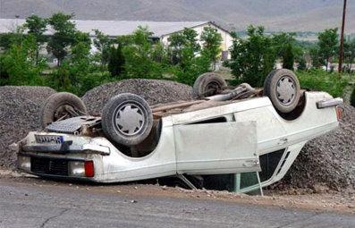 واژگونی خودرو