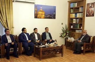 دیدار قائم مقام تولیت آستان قدس رضوی با تولیت مسجد کوفه