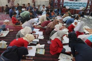 برگزاری جشنواره کتابخوانی رضوی در مناطق زلزله زده