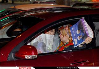 مردم و تبلیغات نامزدهای ریاست جمهوری/گزارش تصویری