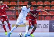 تیم فوتسال زیر ۲۰ سال ایران سهمیه المپیک گرفت