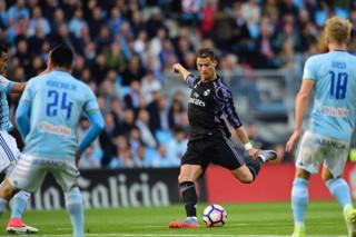 دیدار تیم های فوتبال سلتاویگو و رئال مادرید - کریستیانو رونالدو