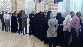 حضور مردم ایلام در انتخابات