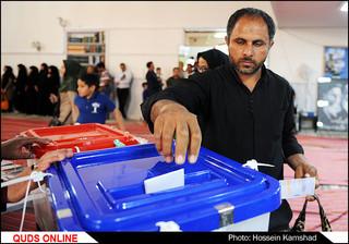 انتخابات ریاست جمهوری و شورای شهر/گزارش تصویری4